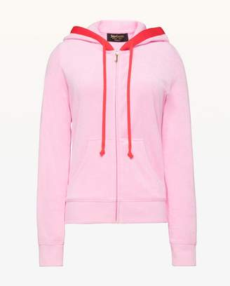 Juicy Couture Colorblock Microterry Robertson Jacket
