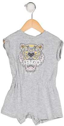 Kenzo Infant Girls' Graphic All-In-One