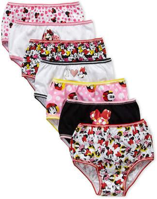 b3e8109b59 Disney Toddler Girls) 7-Pack Minnie Mouse Briefs