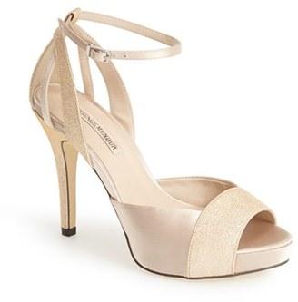 Women's Menbur 'Arenales' Satin Ankle Strap Sandal $131.95 thestylecure.com
