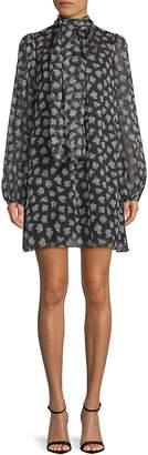Dolce & Gabbana Women's Floral Long-Sleeve Dress