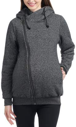 Kimi and Kai Kenzie Zip Maternity Hoodie