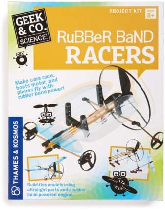 Boy's Thames & Kosmos 'Rubber Band Racers' Kit