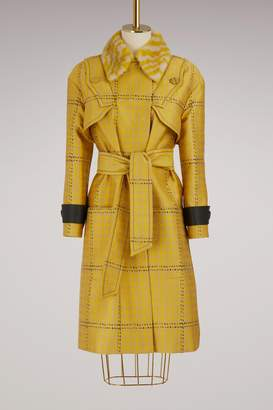 Fendi 3/4 length coat
