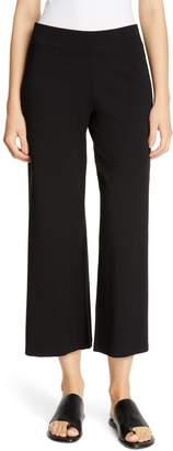 Eileen Fisher Wide Crop Yoked Pants