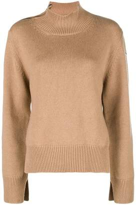 Moncler turtle-neck fitted sweater