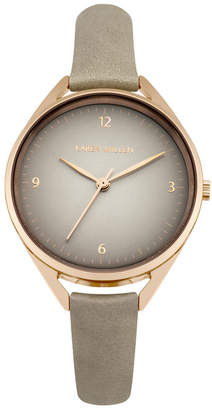 Karen Millen Classic Leather Watch