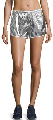 Tory Sport Metallic Pull-On Performance Shorts