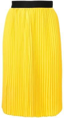 CK Calvin Klein fluid pleated skirt