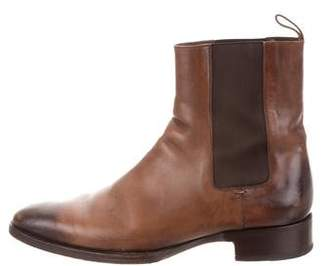 Tom Ford Leather Chelsea Boots