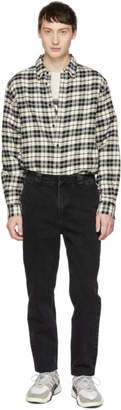 Alexander Wang Black Rodeo Drive Trouser Jeans