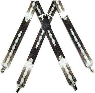 Buy Your Ties SUS-365-WLEG - Eagle Novelty Themed X-BACK Suspenders