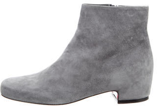 Christian Louboutin Christian Louboutin Suede Ankle Boots