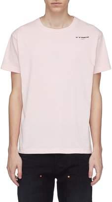 Vyner Articles 'Cyclist' back pocket logo print T-shirt