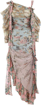 Zimmermann Unbridled Elixir Silk Dress