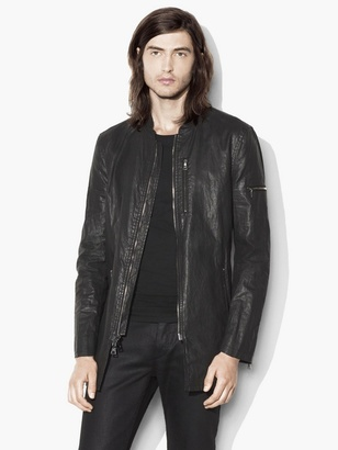 Elongated Linen Bomber Jacket $1,098 thestylecure.com