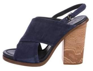 Vince Suede Slingback Sandals