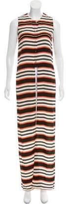 Sass & Bide Striped Sleeveless Top