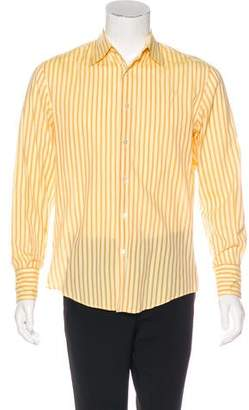 John Varvatos Striped Woven Shirt