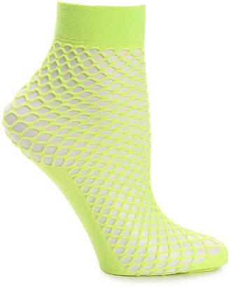 Steve Madden Fishnet Ankle Socks - Women's