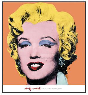 Warhol, Shot Orange Marilyn