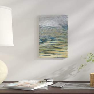 Ocean Current East Urban Home 'Ocean Current Reflection I' Photographic Print on Canvas