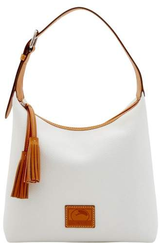 Dooney & Bourke Patterson Leather Paige Sac Shoulder Bag - WHITE - STYLE