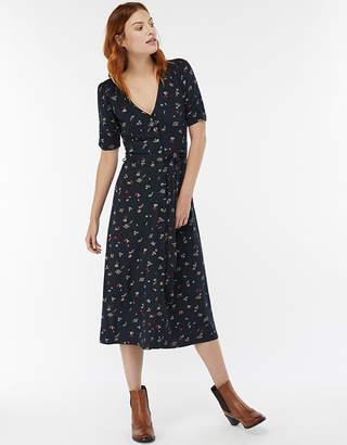 Monsoon Lulu Print Midi Dress