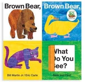 Macmillan Brown Bear, Brown Bear, What Do You See Slide& Find Book