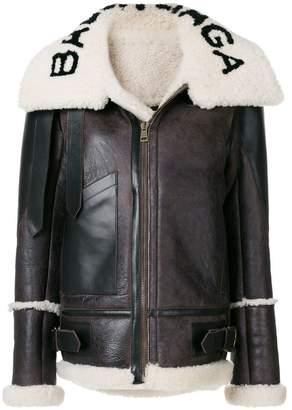 Balenciaga Bal Le Bombadier Jacket