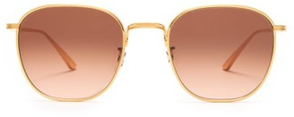 The Row X Oliver Peoples Board Meeting 2 Sunglasses - Womens - Gold