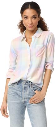 RAILS Hunter Button Down Shirt $148 thestylecure.com