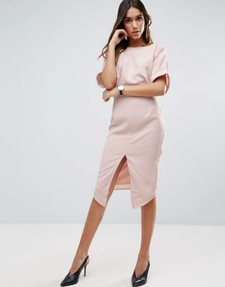 ASOS Wiggle Dress with Split Front $64 thestylecure.com