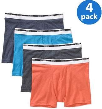 Gildan Men's Trunk Brief 4 Pack, Colors May Vary