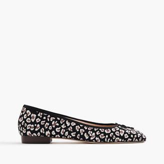Kiki leopard calf hair ballet flats $268 thestylecure.com