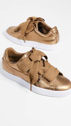 Puma Basket Heart Luxe Sneakers
