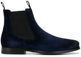 Santoni suede pull-on boots