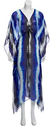 Alberto Makali Silk Swim Cover-Up