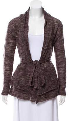 Magaschoni Knit Long Sleeve Cardigan