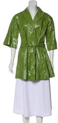 Antonio Marras Coated Linen Coat