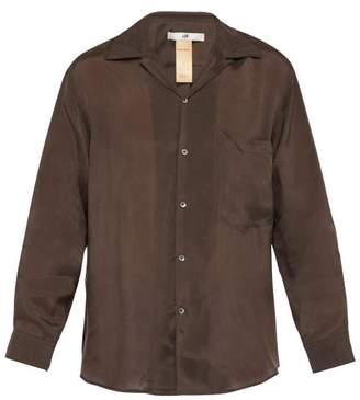 Eytys Donovan Voile Shirt - Mens - Brown
