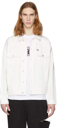 Perks And Mini White Perspective Denim Jacket