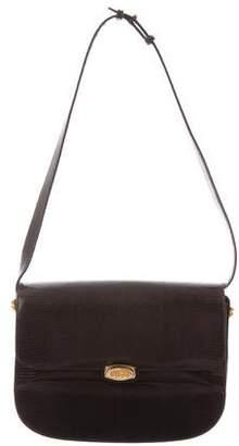 Gucci Vintage Lizard Flap Bag