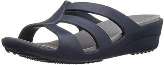Crocs Women's Sanrah Strappy Wedge Sandal