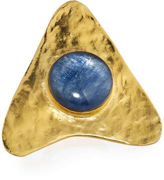 Devon Leigh Triangular Kyanite Ring, Size 6.5