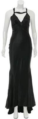 J. Mendel Sleeveless Evening Gown
