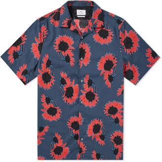 Paul Smith Short Sleeve Floral Print Vacation Shirt