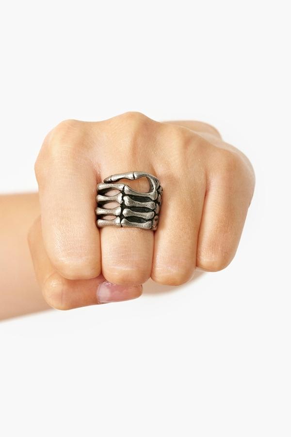 Nasty Gal Skeleton Grip Ring