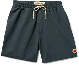 Vacation Mid-Length Cotton-Blend Swim Shorts $70 thestylecure.com