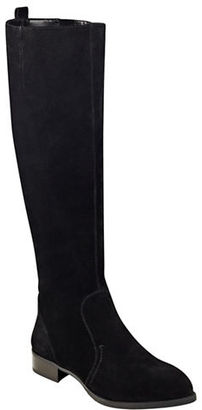 Nine West Nicholah Tall Riding Boots $179 thestylecure.com